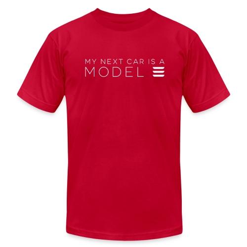 My next car is a Model 3 - Men's Fine Jersey T-Shirt