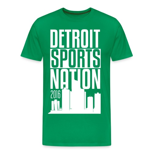 Sparty Green - Men's Premium T-Shirt