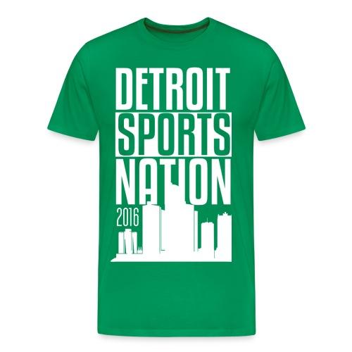 Sparty Green - Men's Premium T-Shirt