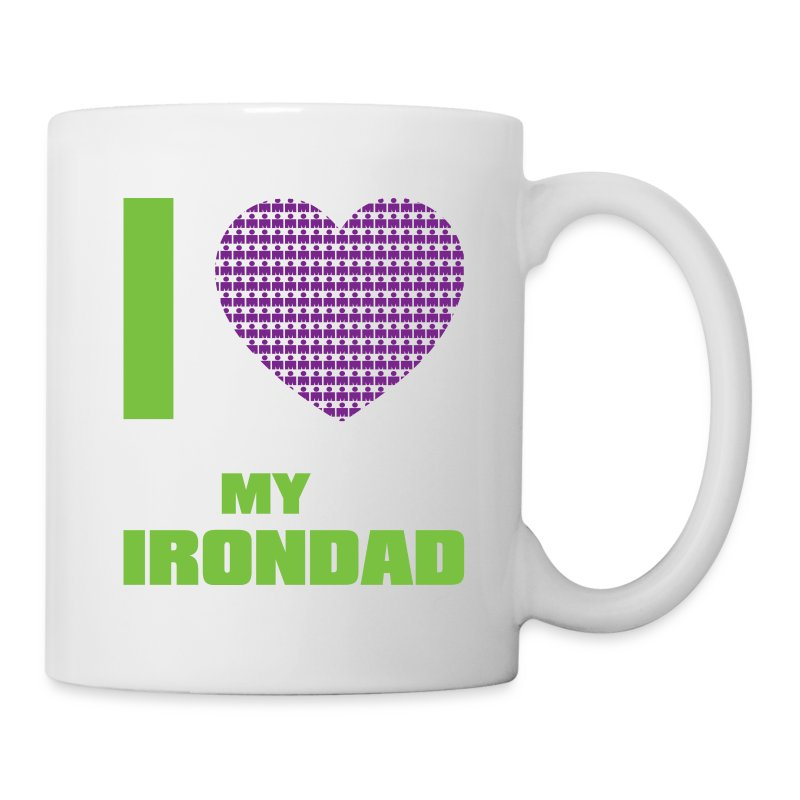 I Heart My Irondad Coffee/Tea Mug - Coffee/Tea Mug