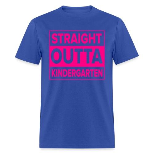 MENS Straight Outta Kindergarten NEON PINK - Men's T-Shirt