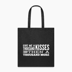 give me thousand kisses Bags & backpacks