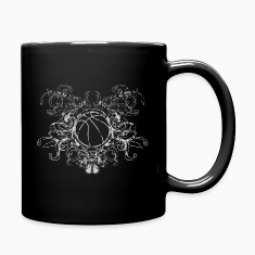 vintage_ball_sport_042016_basketball_c Mugs & Drinkware