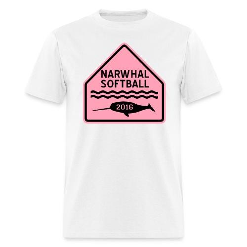 Narwhal Softball - Men's T-Shirt
