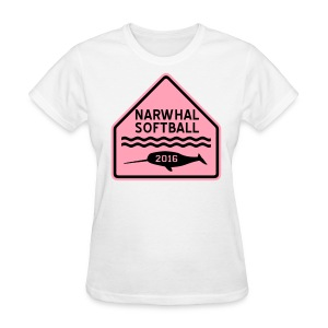 Narwhal Softball - Women's T-Shirt