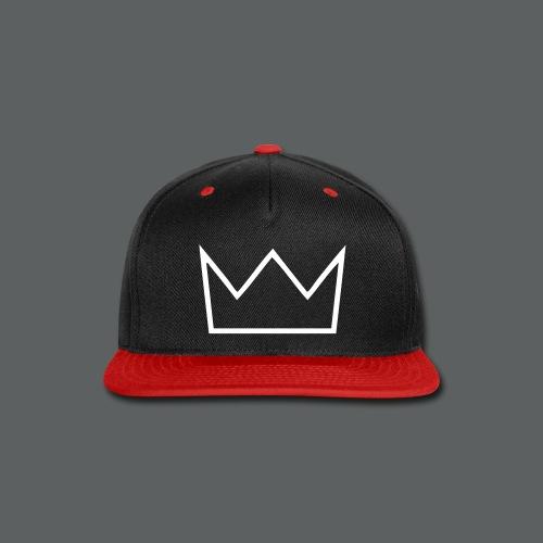 VEYN CROWN BLACK/RED - Snap-back Baseball Cap