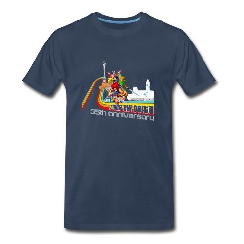 SCD 35th Anniversary Men's T-Shirt - Men's Premium T-Shirt