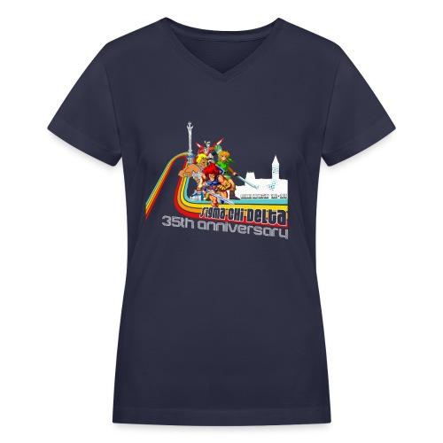 SCD 35th Anniversary Women's V-Neck T-Shirt - Women's V-Neck T-Shirt
