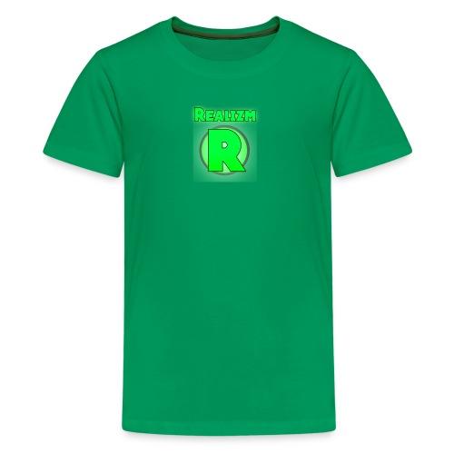 Realizm R Logo T Shirt - Kids' Premium T-Shirt