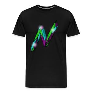 Nitroglitch N Logo - Men's T-Shirt - Men's Premium T-Shirt