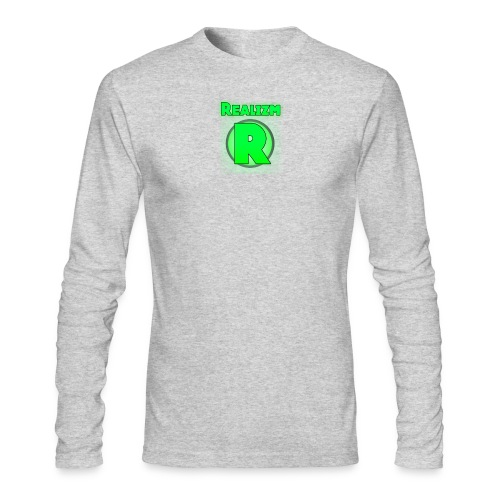 Realizm R Logo Men's Long Sleeves - Men's Long Sleeve T-Shirt by Next Level