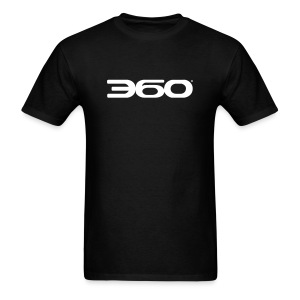 360 Magazine Logo (white logo) - men - Men's T-Shirt