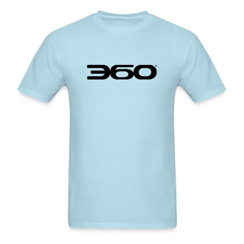 360 Magazine Logo (black logo) - men - Men's T-Shirt