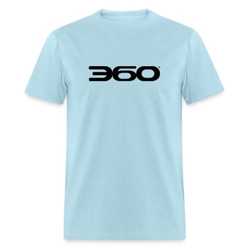 360 Magazine Logo (black logo) - men - Men's T-Shirt