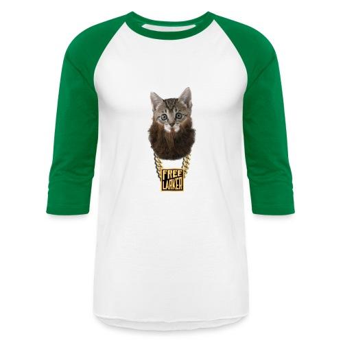 BOSS KITTY ON BASEBALL TEE - Baseball T-Shirt