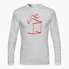 Athletics High Jump Pictogram Long Sleeve Shirts