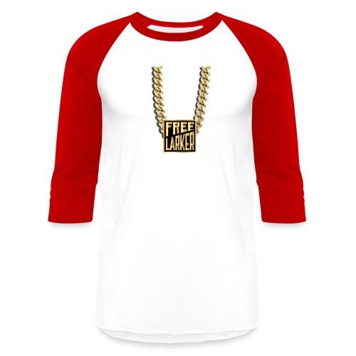 FL GOLD CHAIN ON BASEBALL TEE - Baseball T-Shirt