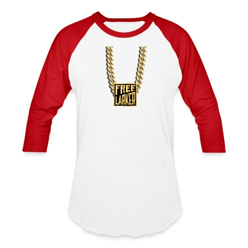 FL GOLD CHAIN ON BASEBALL TEE - Baseball T-Shirt