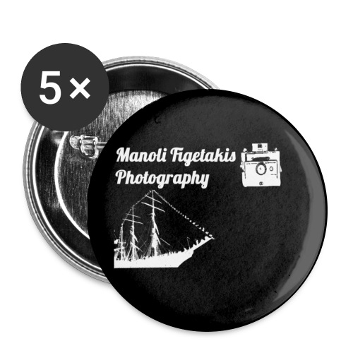 Offical Manoli FIgetakis Photography PIN  - Large Buttons