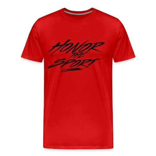 Honor The Sport - Drunk Gunners - Men's Premium T-Shirt