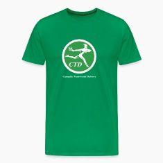 Cannabis Transworld Delivery - Green-White T-Shirts