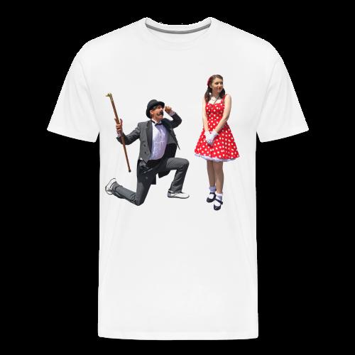 Mister Dapper's Quest (+ Sizes & Premium) - Men's Premium T-Shirt