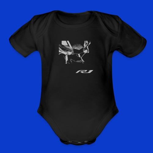 Eagle Eyes Baby!  - Organic Short Sleeve Baby Bodysuit