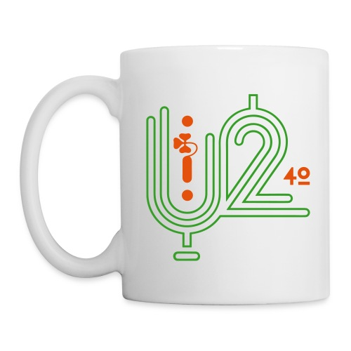U+2=40 - single sided print - Coffee/Tea Mug