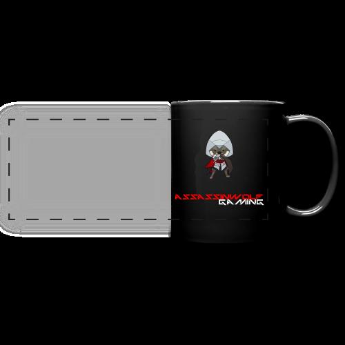 black assassinwolf mug - Full Color Panoramic Mug