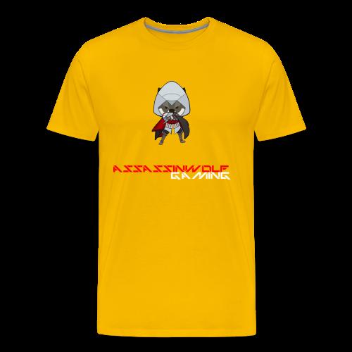 sun yellow assassinwolf Tee - Men's Premium T-Shirt