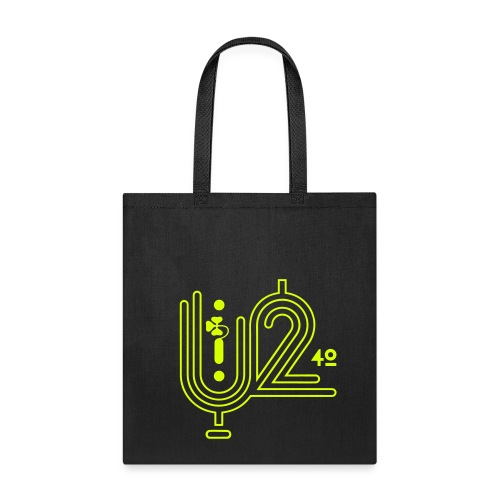U+2=40 - front print neon - one size - Tote Bag