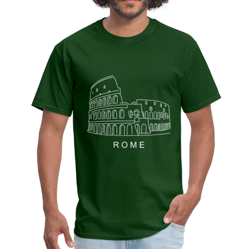 Colosseum in Rome - Men's T-Shirt