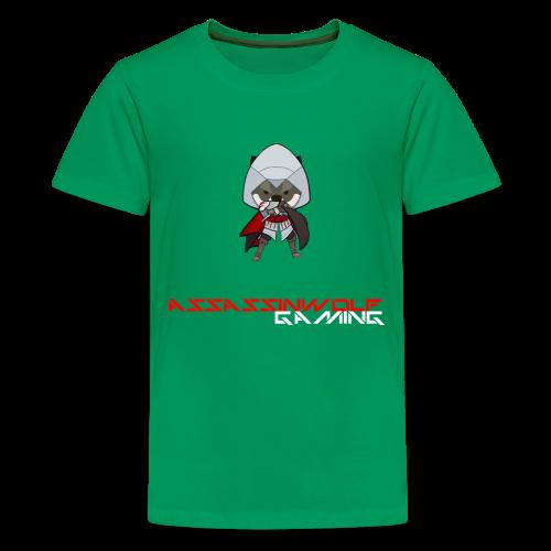 kelly green assassinwolf Tee - Kids' Premium T-Shirt