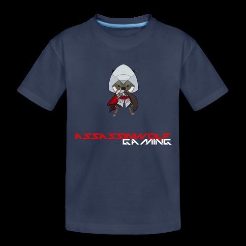 navy assassinwolf Tee - Kids' Premium T-Shirt