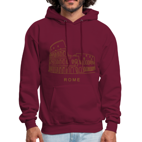 Colosseum in Rome - Men's Hoodie