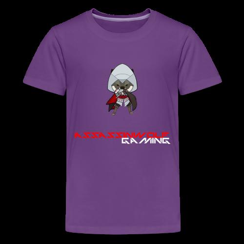 purple assassinwolf Tee - Kids' Premium T-Shirt