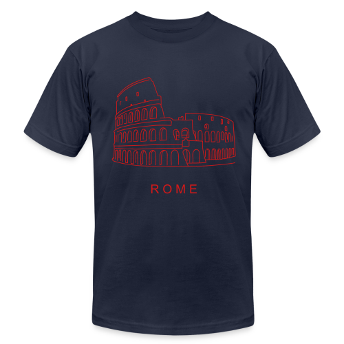 Colosseum in Rome - Men's  Jersey T-Shirt