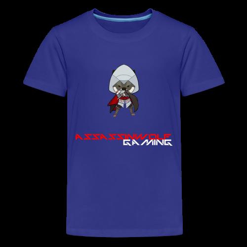 royal blue assassinwolf Tee - Kids' Premium T-Shirt
