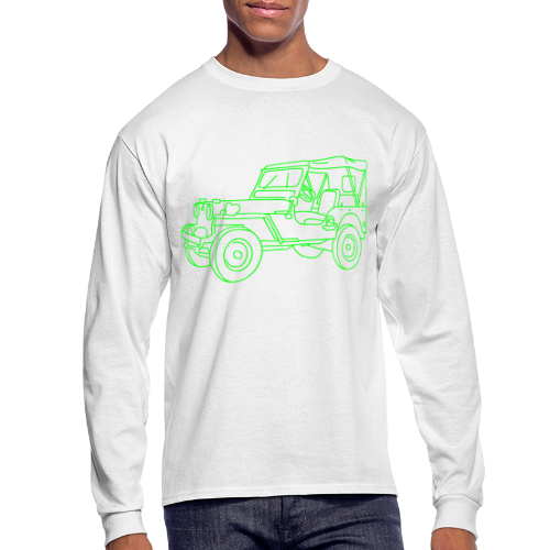 SUV 4x4 - Men's Long Sleeve T-Shirt