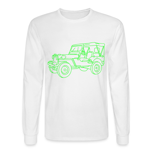 SUV 4x4 - Men's Long Sleeve T-Shirt