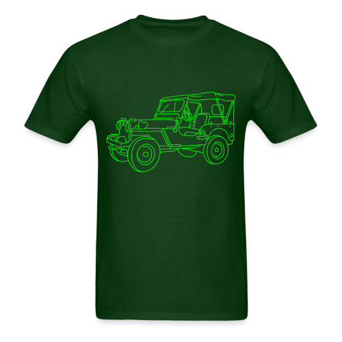 SUV 4x4 - Men's T-Shirt