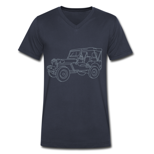 SUV 4x4 - Men's V-Neck T-Shirt by Canvas