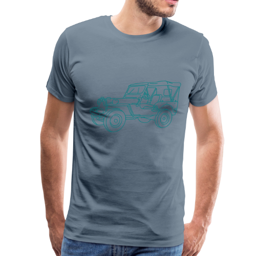 SUV 4x4 - Men's Premium T-Shirt