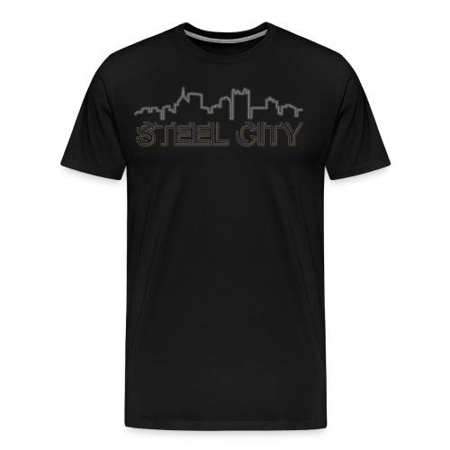 STEEL City - Men's Premium T-Shirt