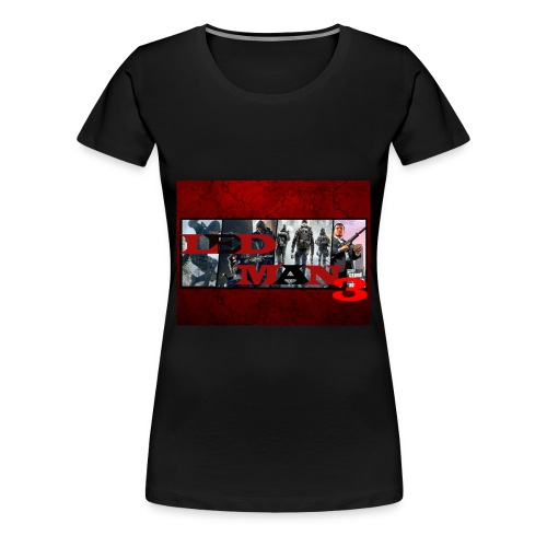 Ledman3 channel art subscriber special T-shirt (female)  - Women's Premium T-Shirt