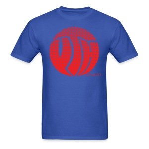 YTH Logo Red Fade Shirt - Men's T-Shirt
