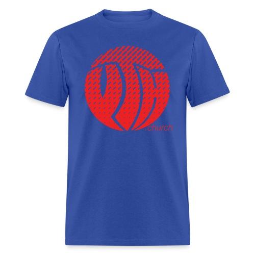 YTH Logo Red Fade Shirt - Men's T-Shirt