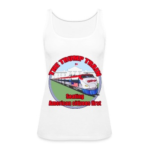 Trump Train America first - Women's Premium Tank Top