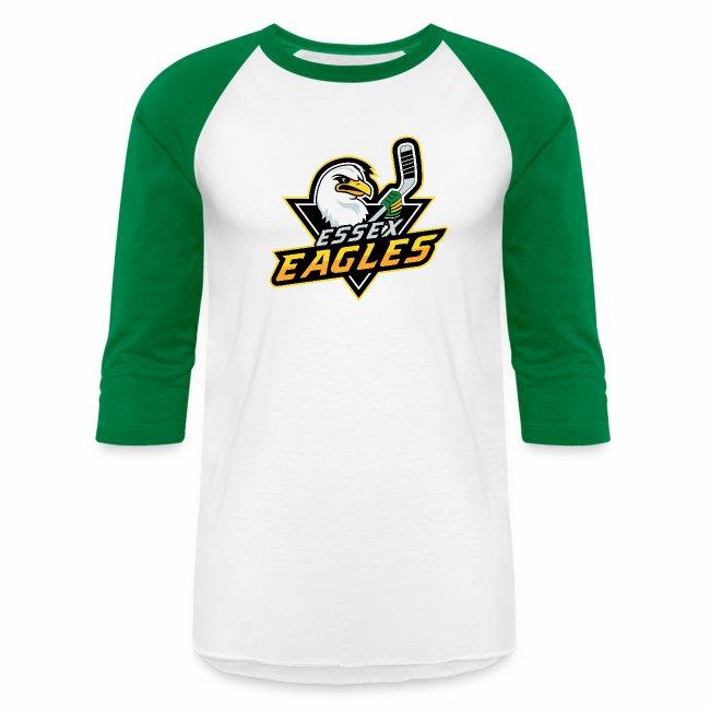 c9abff12 EssexEaglesHockey | Eagles 34 Sleeve Tee - Baseball T-Shirt