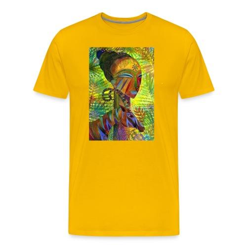 African Queen men's Tee - Men's Premium T-Shirt